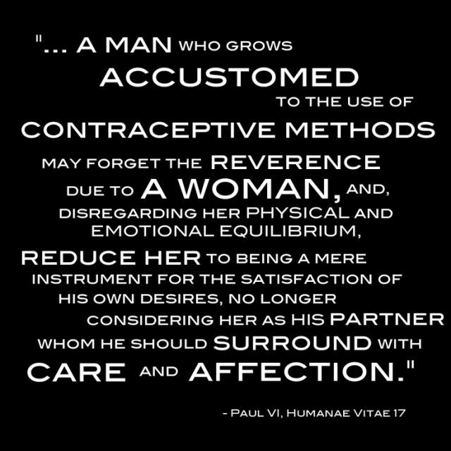 from Humanae Vitae
