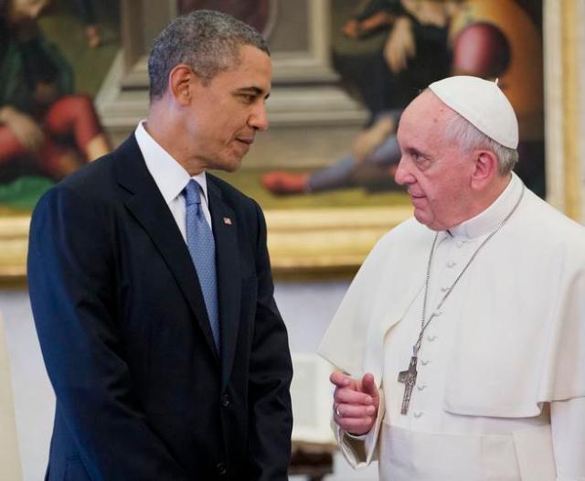 Barack Obama, Pope Francis,