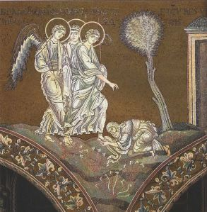 Abraham and Three Visitors Wikimedia Commons
