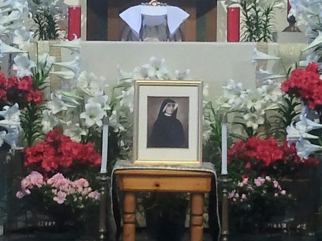 St Faustina at St Thomas