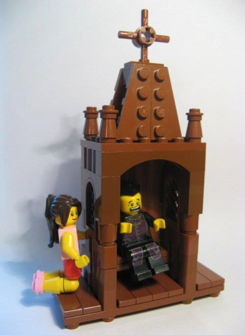 lego confession