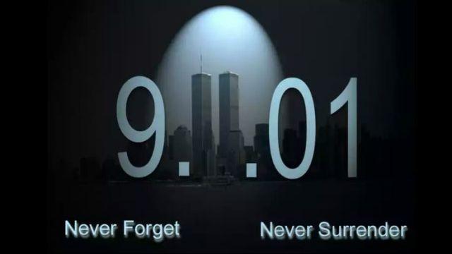 never forget never surrender