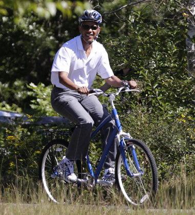 Obama bicycle