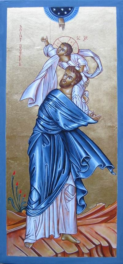 blue icon of joseph