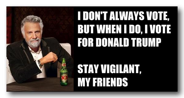 Donald Trump Viligant