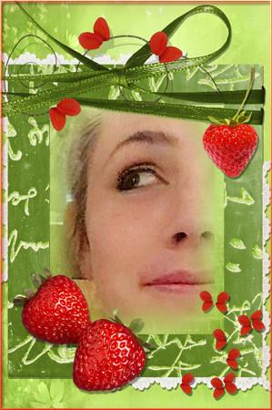 juicy strawberries