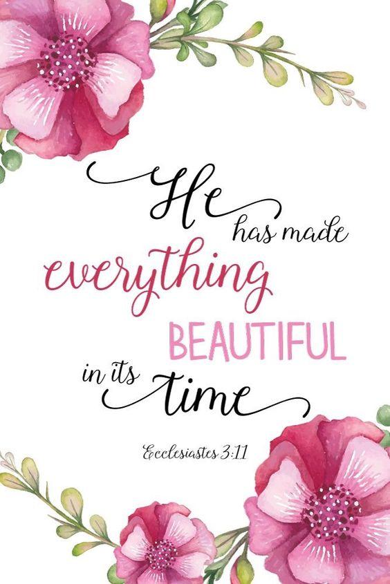 he has made