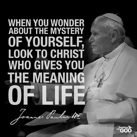 john paul II quote