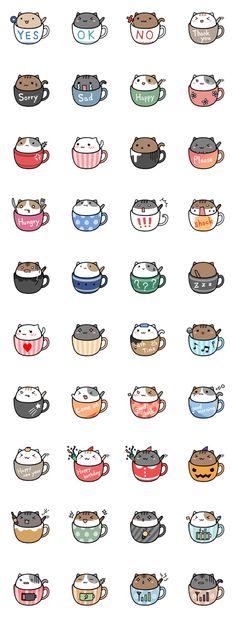 kitty emojies