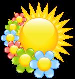 large yellow sun