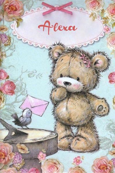 teddy with bird