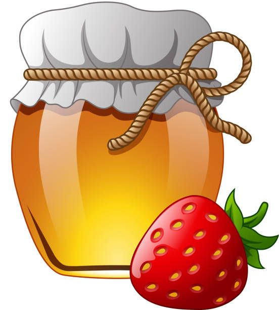 glass-jar-of-honey-with-strawberry-vector-id855340848 (1)